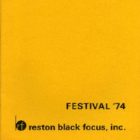 Festival '74: Reston Black Focus, Inc.