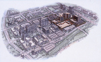 Reston Town Center, Phase I drawing